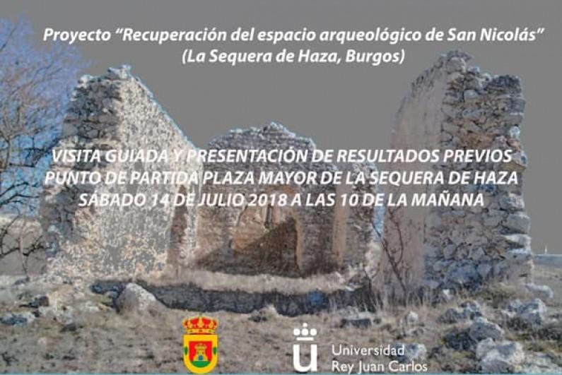 Nuevos hallazgos arqueológicos en la ermita prerrománica de San Nicolás de La Sequera de Haza (Burgos)