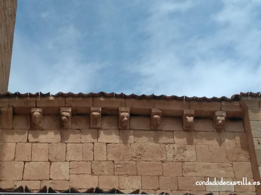 Canecillos de San Miguel de Fuentidueña