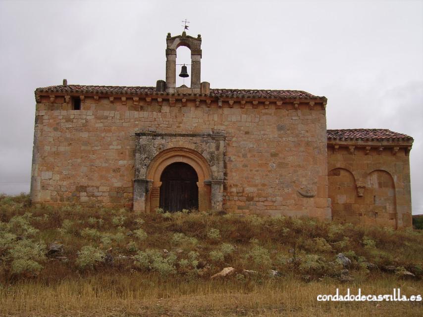 Fachada meridional de la Ermita del Santo Cristo de San Sebastián