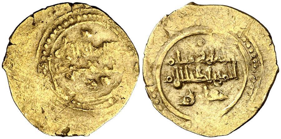 Fracción de dinar de oro de'Abd al-Aziz de Valencia