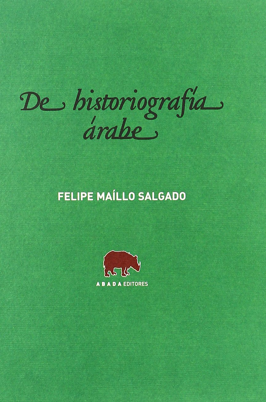 De historiografía árabe Book Cover