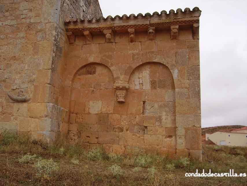 Muro sur del ábside de la Ermita del Santo Cristo de San Sebastián