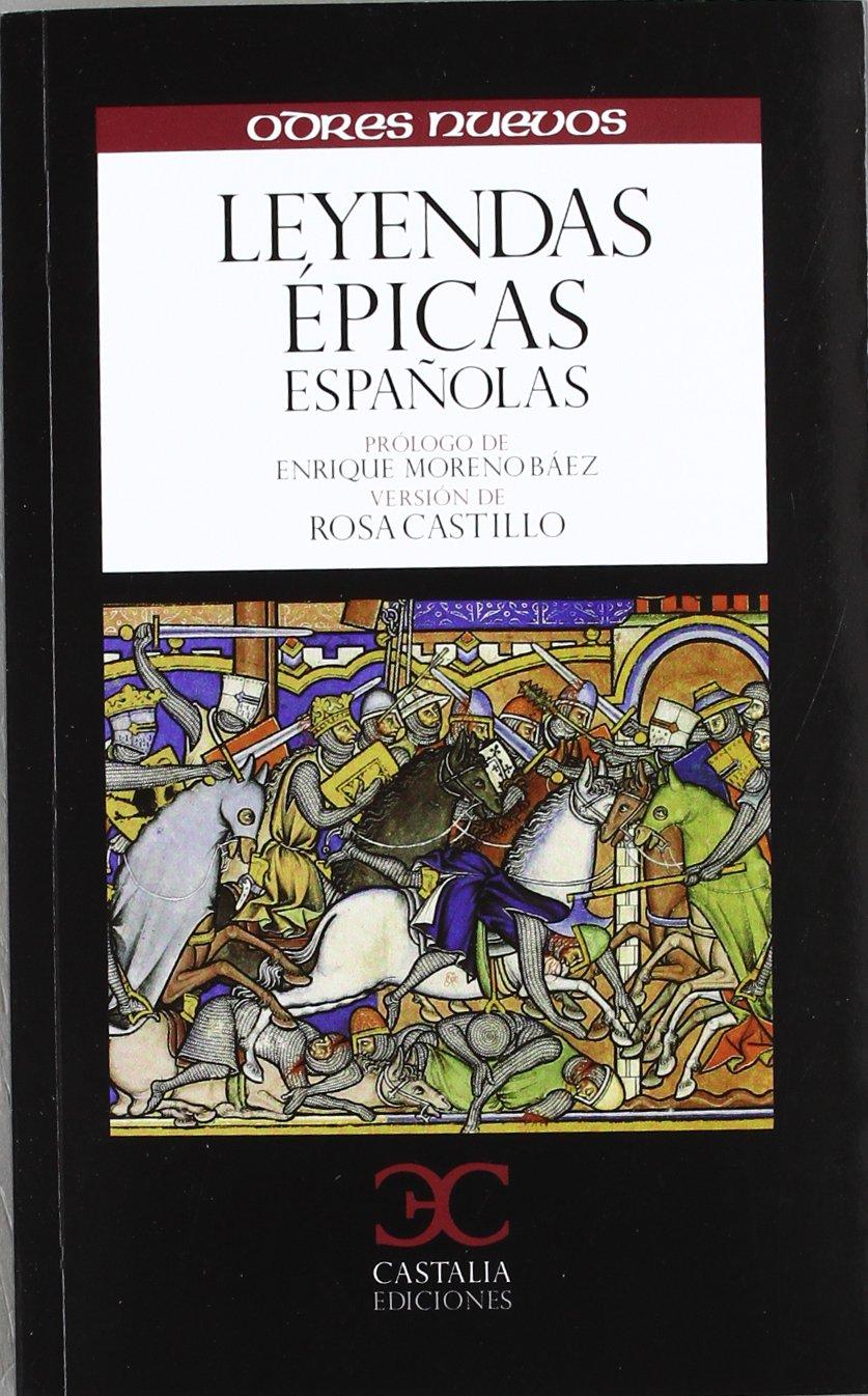 Leyendas épicas españolas Book Cover