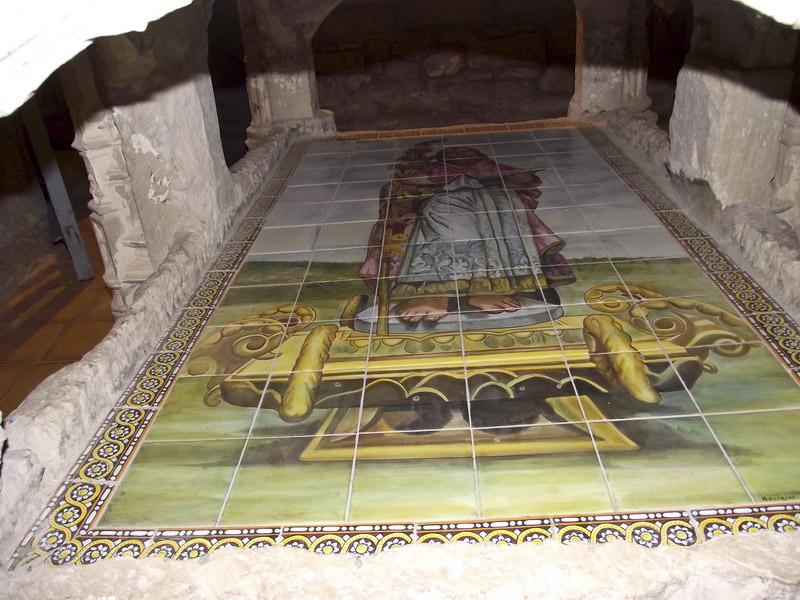 Sepulcro de San Formerio en la ermita de San Formerio de Pangua