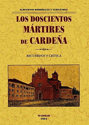 Los doscientos mártires de Cardeña. Book Cover