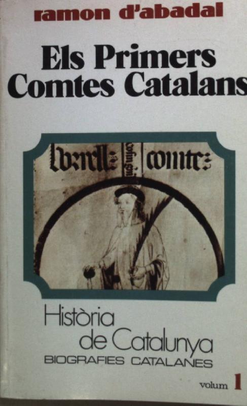 Els primers comtes catalans Book Cover