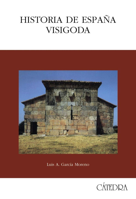 Historia de España visigoda Book Cover