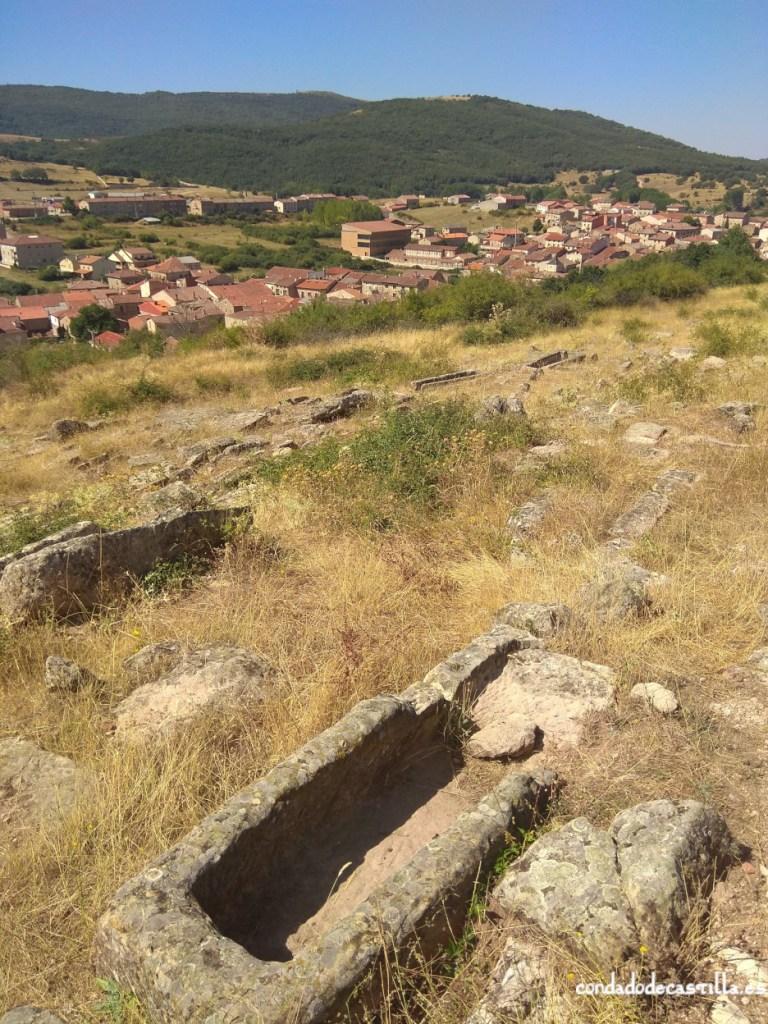 Necrópolis del Castillo en Palacios de la Sierra