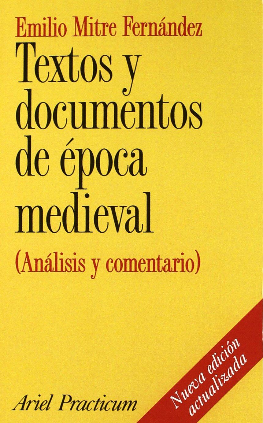 Textos y documentos de época medieval Book Cover