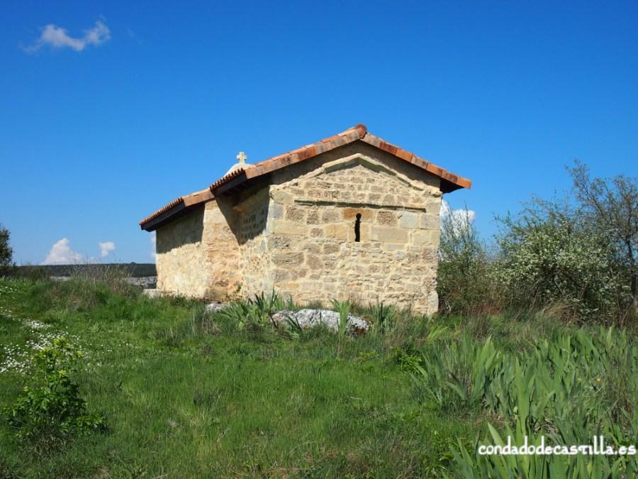 Ábside de la ermita de Santa Centola y Elena