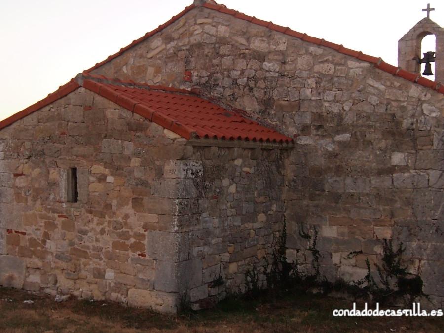 Ábside de la ermita de Montesclaros de Ubierna desde el noreste