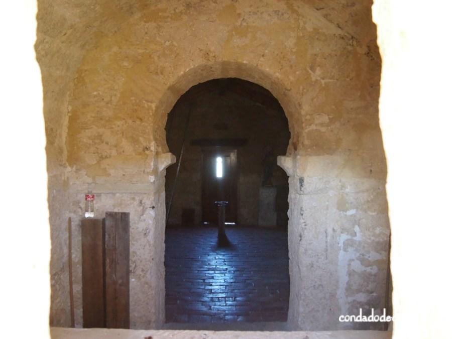 Interior de la ermita de Santa Centola y Elena