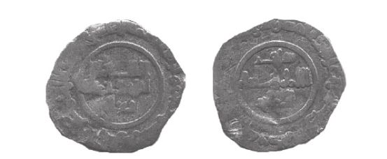 Moneda de Ya'la de Tortosa 448H
