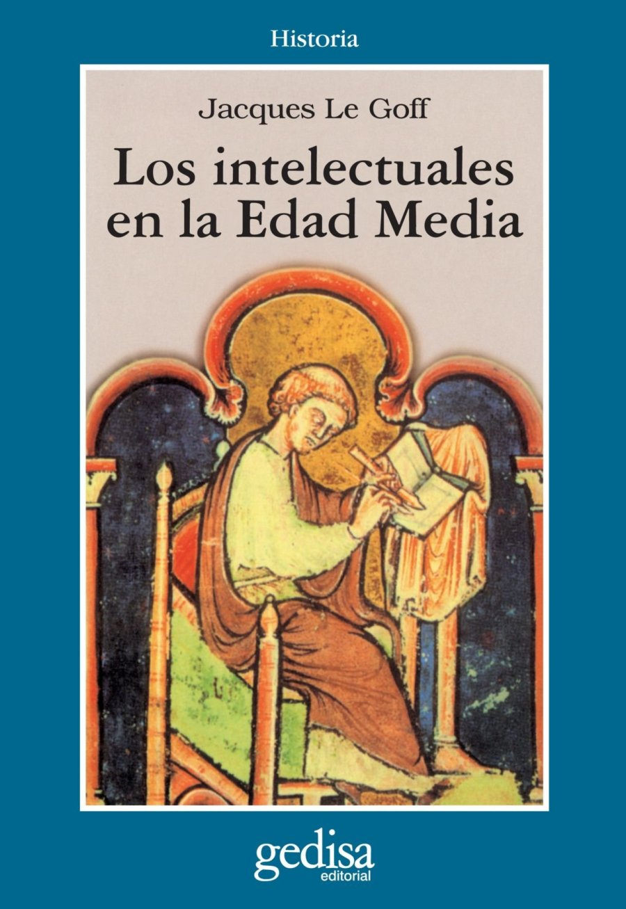 Los Intelectuales en la Edad Media Book Cover