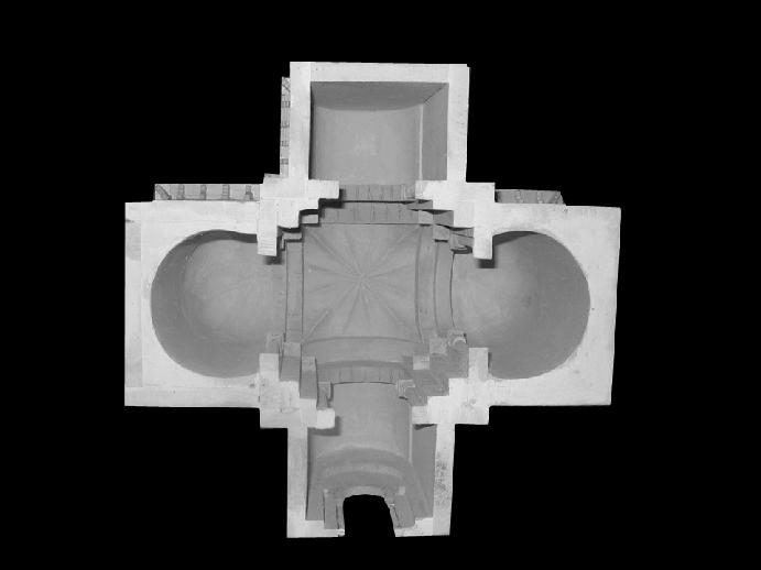 Planta de la iglesia de San Salvador de Palat del Rey