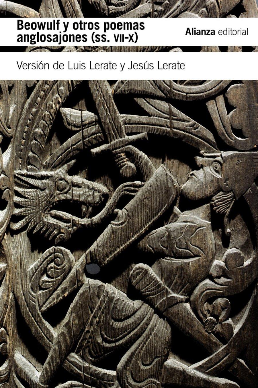 Beowulf y otros poemas anglosajones (siglos VII-X) Book Cover