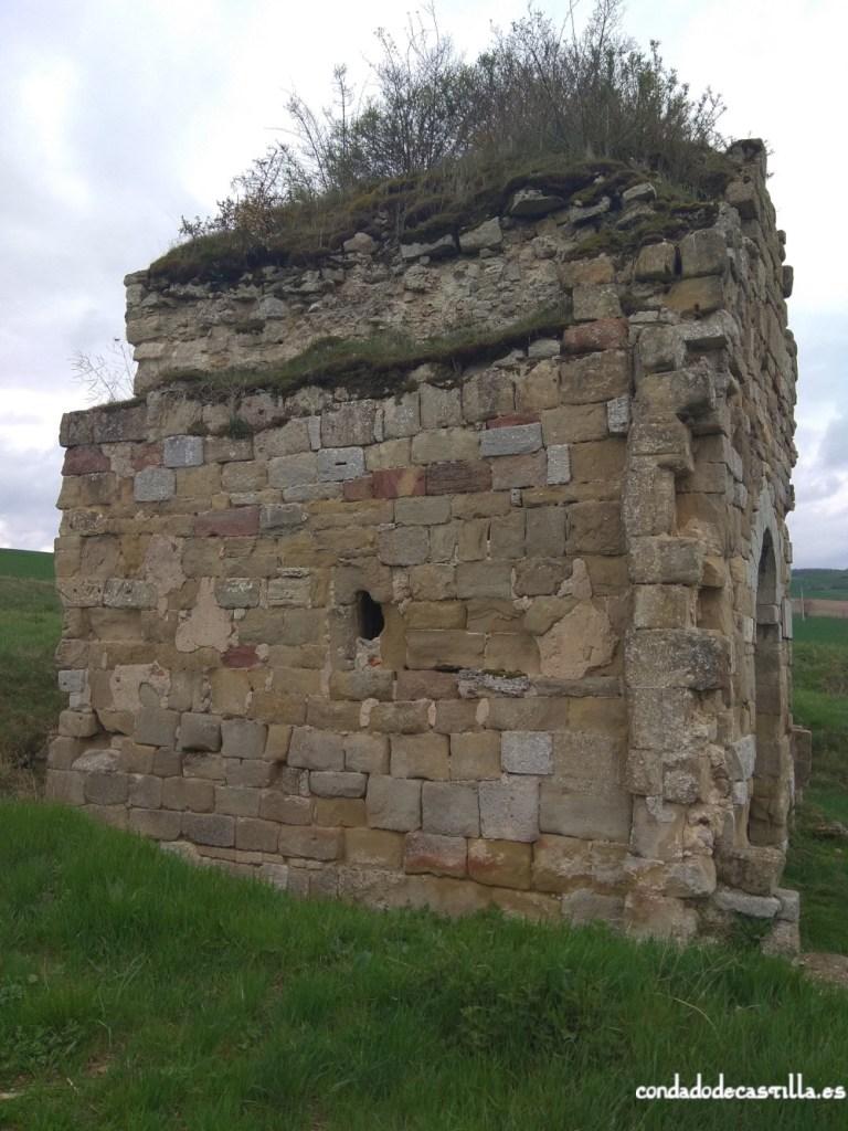 Muro norte ábside San Féliz de Oca