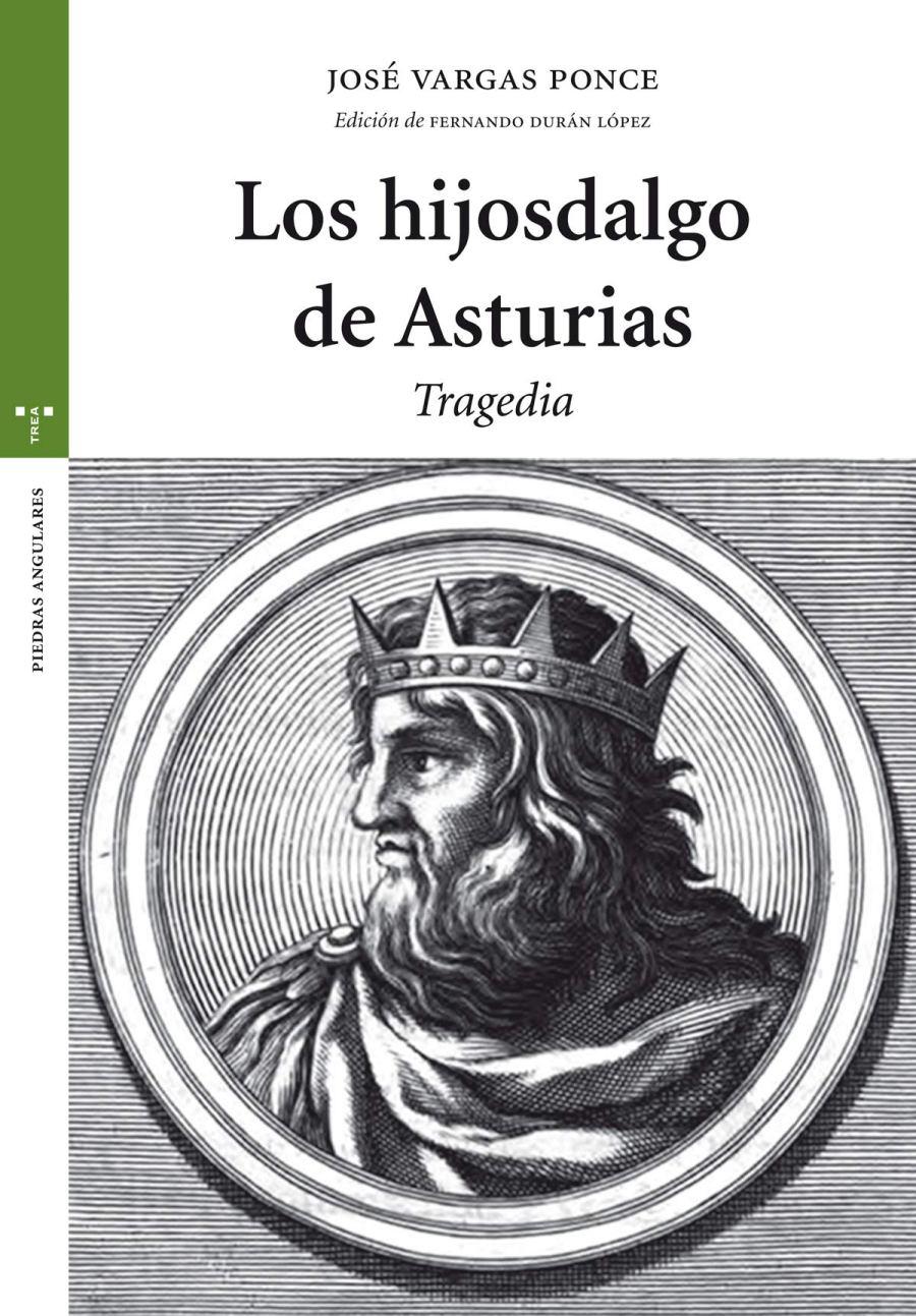 Los hijosdalgo de Asturias. Tragedia Book Cover