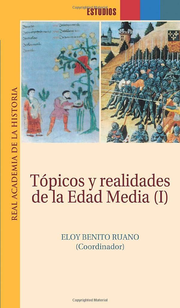 Tópicos y realidades de la Edad Media (I) Book Cover