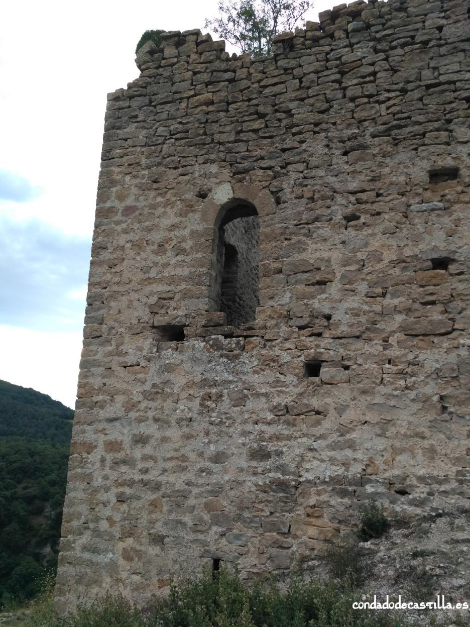 Torre de Astulez - Muro este