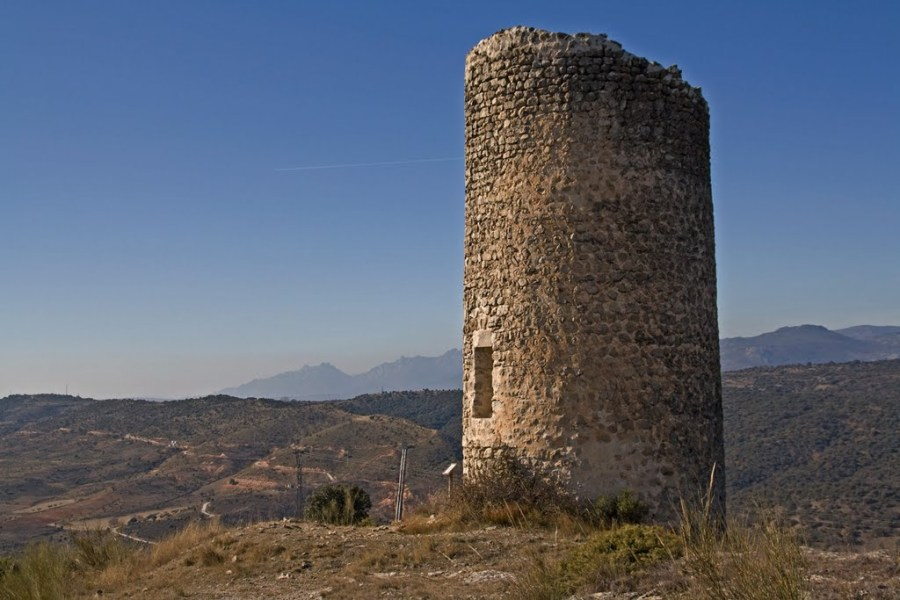 Atalaya de Arrebatacapas en Torrelaguna (Madrid)