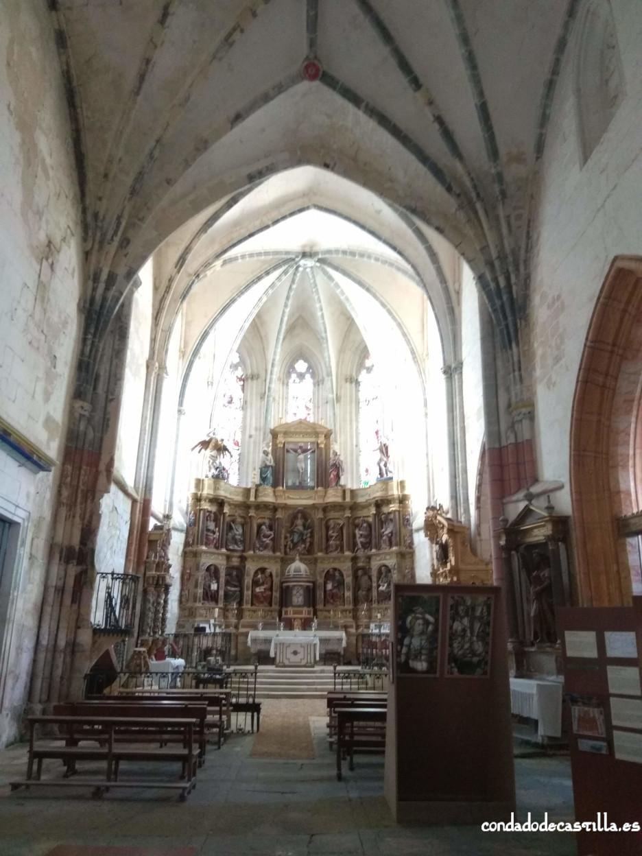 Interior ex-Colegiata de Santa María de Valpuesta