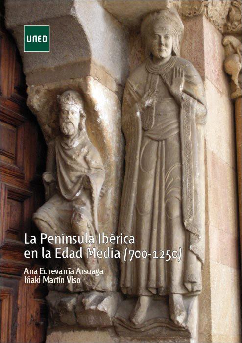 La Península Ibérica en la Edad Media (700-1250) Book Cover