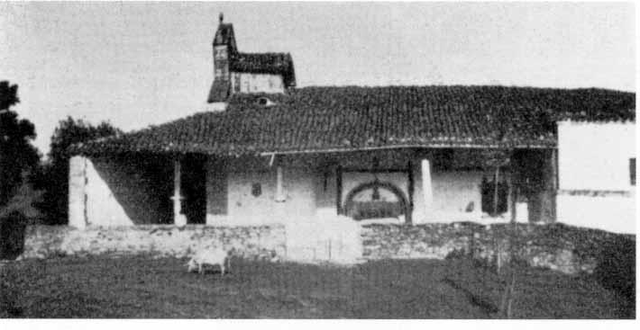 Antigua ermita de Nuestra Señora de los Milagros de Soscaño