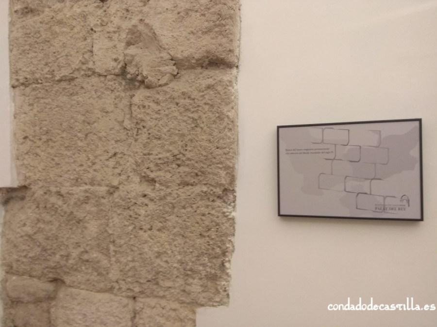 Restos de los muros del siglo X de la iglesia de San Salvador del Palat del Rey de León