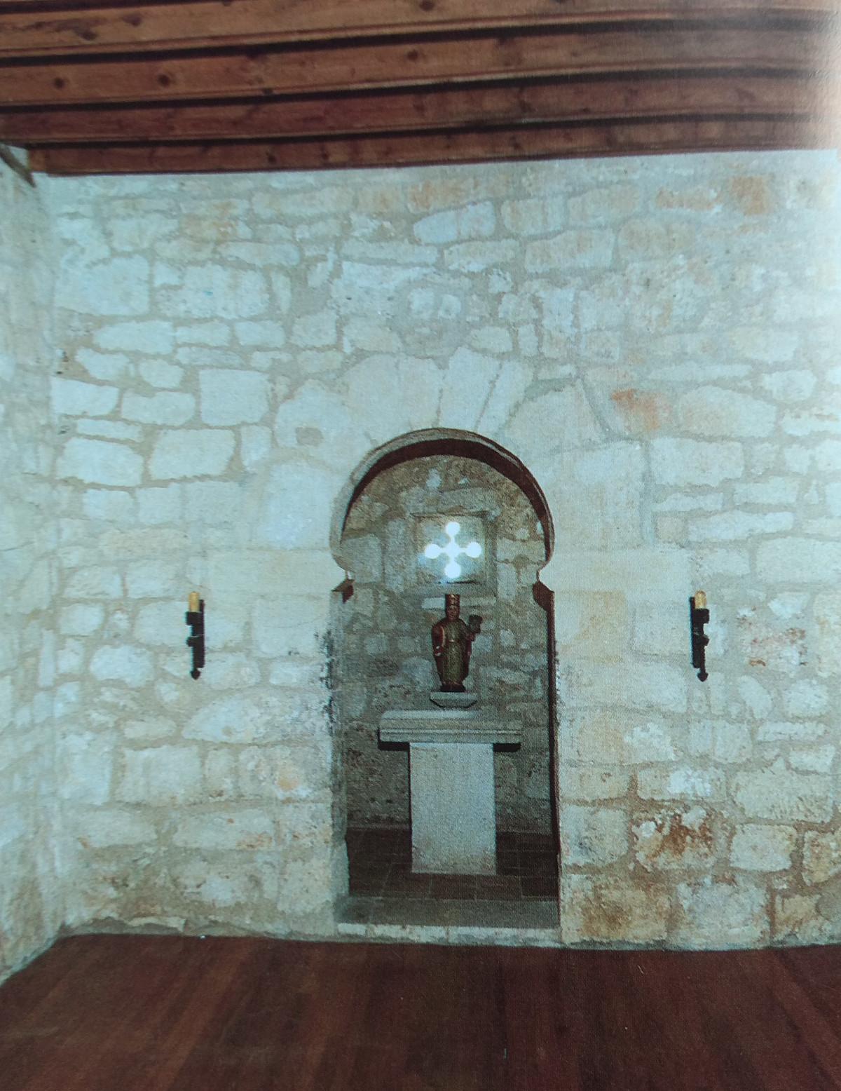 Interior de Santa Cecilia - Arco de herradura