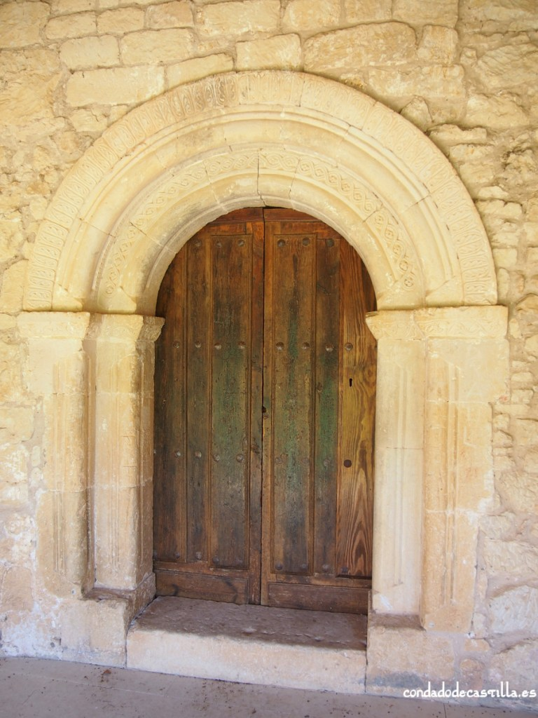 Portada de acceso a Santa Cecilia