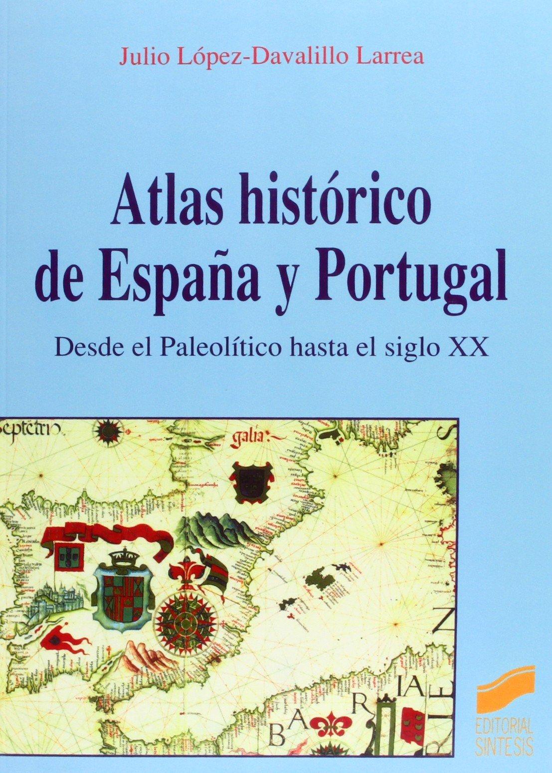 Atlas histórico de España y Portugal Book Cover