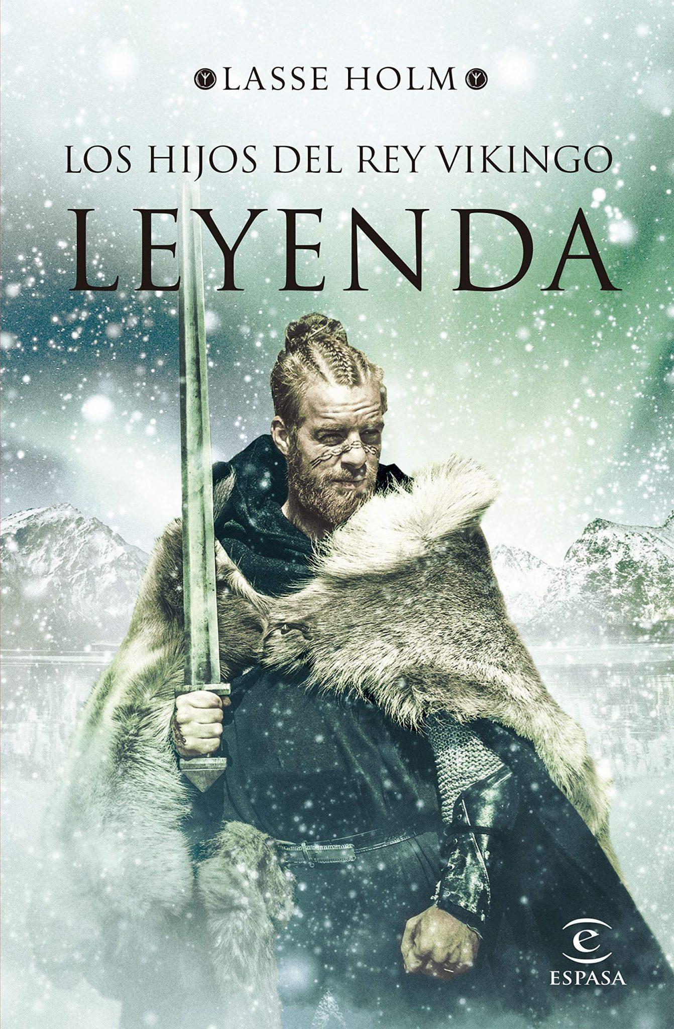 Los hijos del rey vikingo: Leyenda Book Cover