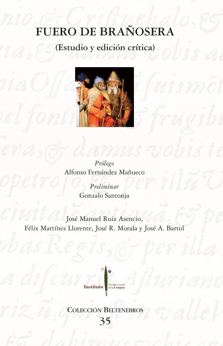 Fuero de Brañosera (Estudio y edición crítica) Book Cover