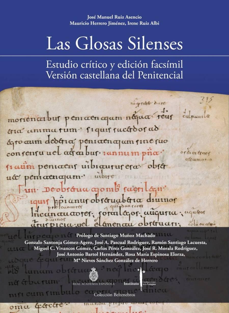 Las Glosas Silenses. Estudio crítico y edición facsímil. Versión castellana del Penitencial Book Cover