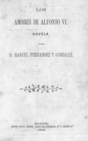 Los Amores de Alfonso VI Book Cover