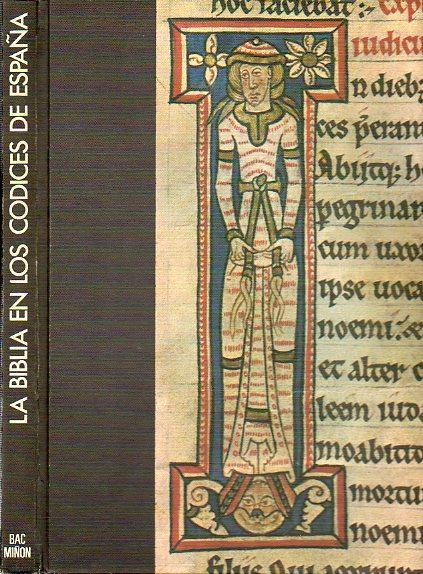 La Biblia en los códices de España Book Cover