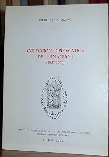 Colección diplomática de Fernando I (1037-1065) Book Cover