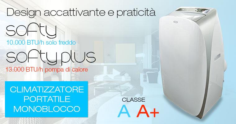 Argo SOFTY e SOFTY PLUS condizionatori Made in Italy