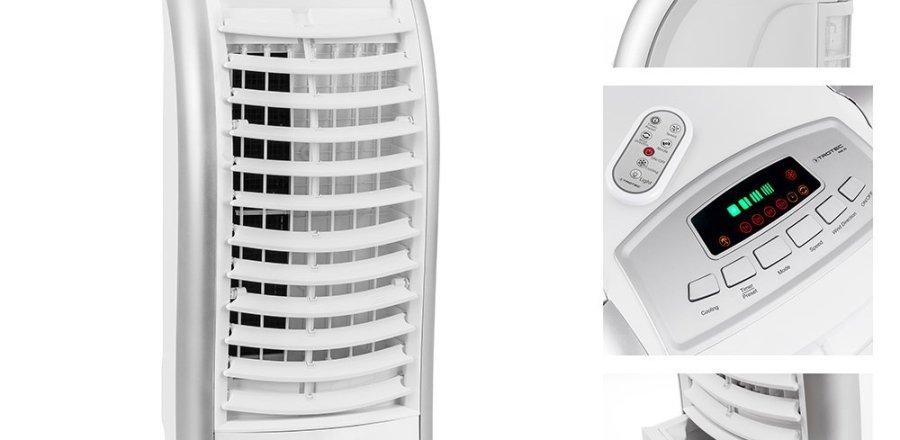 Condizionatori e climatizzatori portatili senza tubo for Rinfrescatore d aria