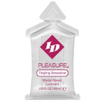 ID Pleasure Stimulating Lubricant 10ml Pillows