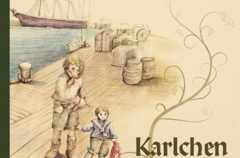«Karlchen»: El libro con la historia del niño inmigrante que huyó de la crisis económica en su país para instalarse en Chile.