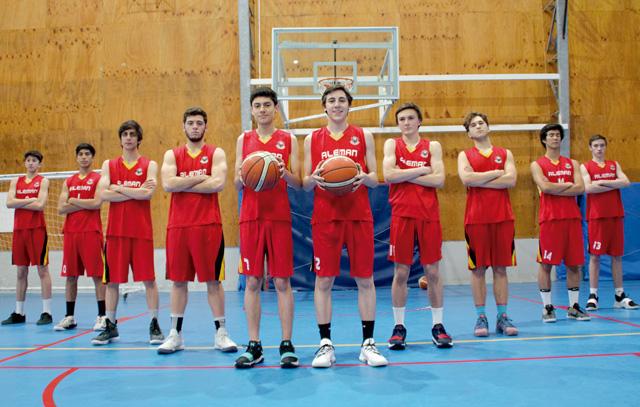 Equipo Colegio Alemán de Puerto Varas