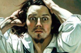 «Der Verzweifelte» (1843-1845) von Gustave Courbet