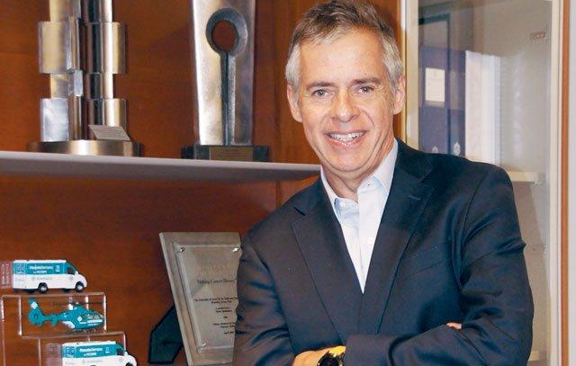 Foto von Cristián Piera, Geschäftsführer der Clínica Alemana. Foto: Silvia Kählert
