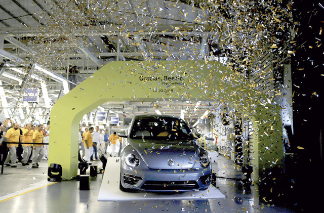 VW Beetle Ende Produktion