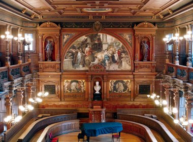 Innenansicht Universität Heidelberg