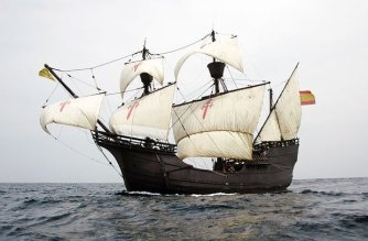 Weltumseglung Ferdinand Magellan Schiff Nao Victoria