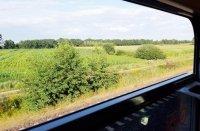 Fahren mit der Deutschen Bahn im Zug
