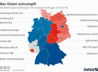Grafik Ostdeutschland